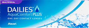 Dailies Aqua Comfort Plus Multifocal contact lens